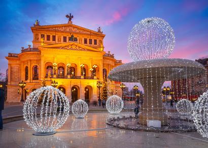 Alte Oper in Frankfurt, Wasserspiele