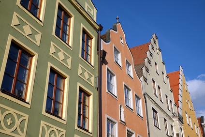 Bürgerhäuser in Ingolstadt