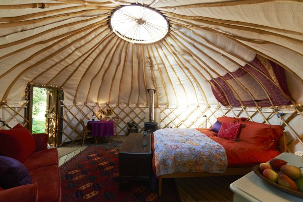 Glamping, Luxus, Luxuscamping, luxuriöses Zelt, 5 Sterne Camping