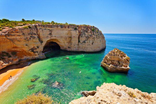Portugal Küste Algarve Meer Strand