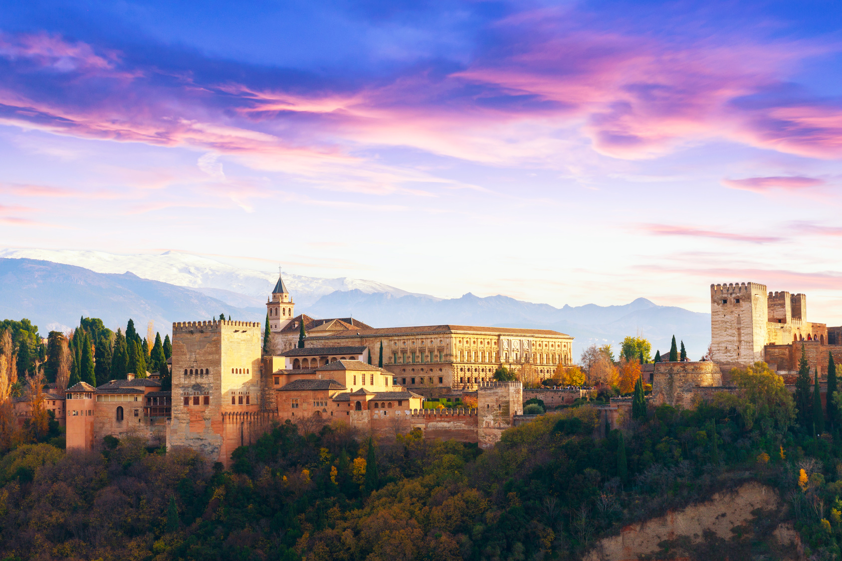 Spanien, Camping, Andalusien, Alhambra