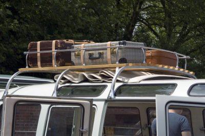 VW Bus packen