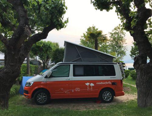 Unser erster Bulli-Campingtrip – Ein Wochenende mit roadsurfer am Gardasee