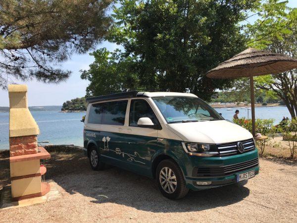 Kroatien Campervan roadsurfer Aussteiger