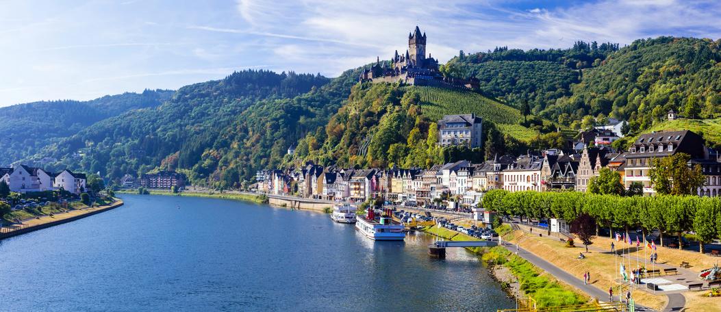Rhein Schloss Burg