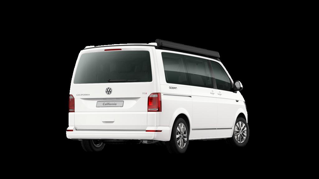 VW Bus aussen weiß California Ocean