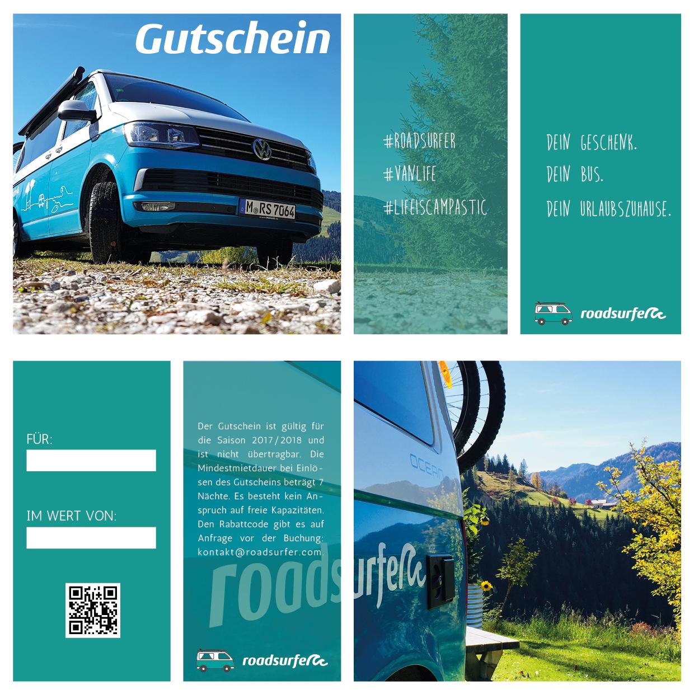 roadsurfer Gutschein VW Camper