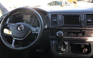 VW T6 California Beach Cockpit