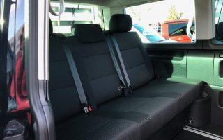 VW T6 California Beach 3-er Rückbank mit Isofix