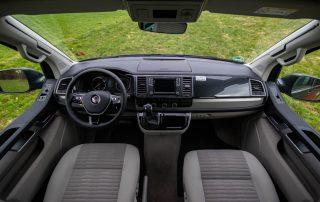 VW T6 California Ocean Fahrerraum mit DSG Automatik