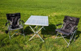 VW T6 Camper Einsteiger Campingtisch & 2 Stühle inklusive