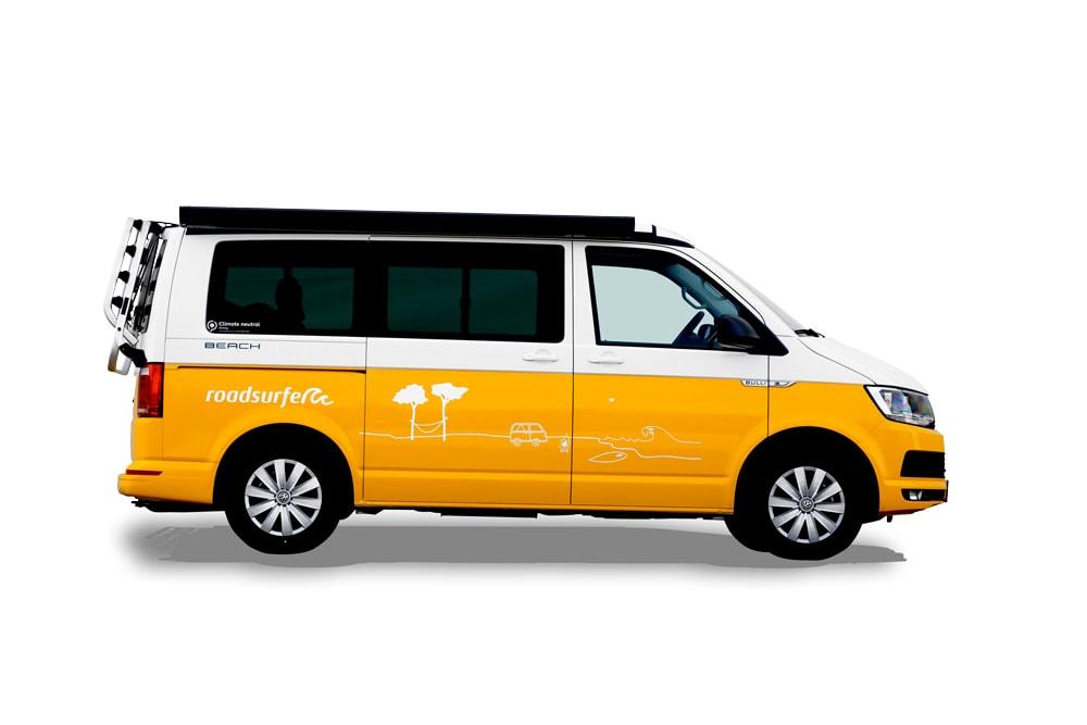 VW T6 California Beach Einsteiger Plus 2