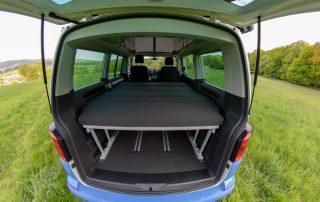 VW T6 California Beach Schiene für Campingtisch innen