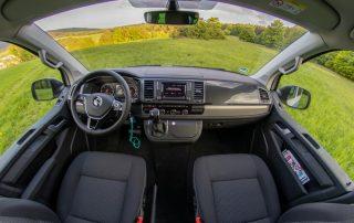 VW T6 California Beach Cockpit Fahrerraum