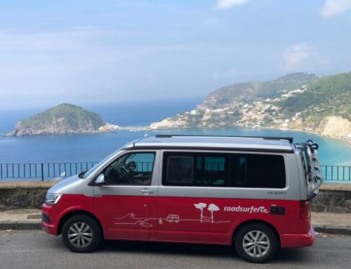 Camping Kampanien: Roadtrip zum Golf von Neapel