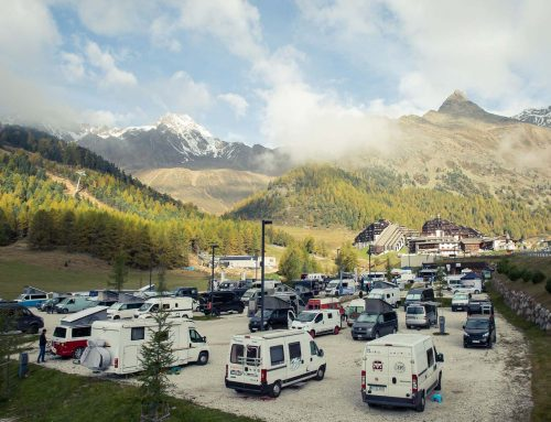 Outdoor-Event: roadsurfer beim Camper Van Summit in Tirol