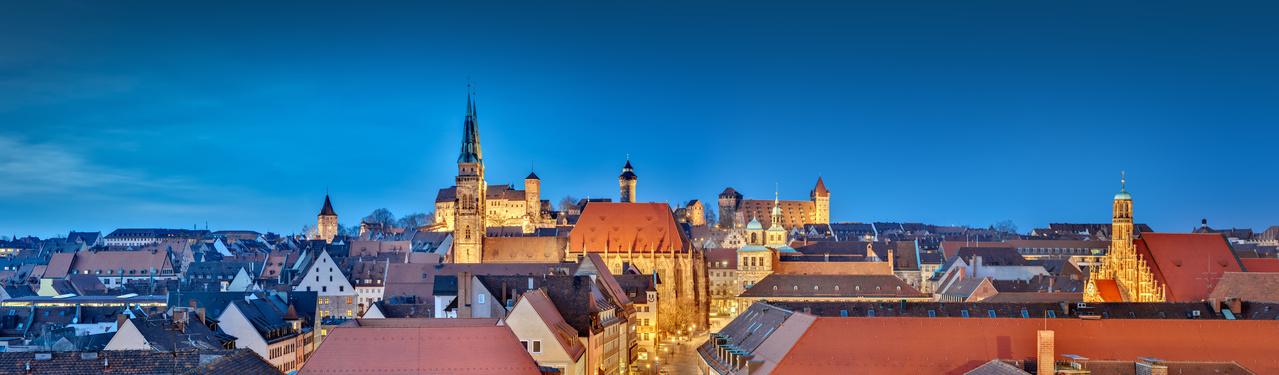 Nürnberger Altstadt, Sightseeing Nürnberg, Camping Urlaub Nürnberg, Camper mieten Nürnberg