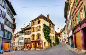 Die Altstadt von Basel
