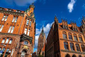 Altes Rathaus in Hannover in der Altstadt