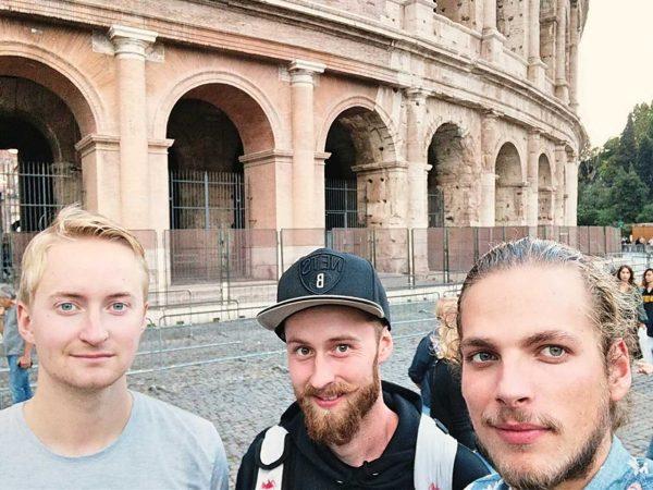 Roadtrip Italien Crew