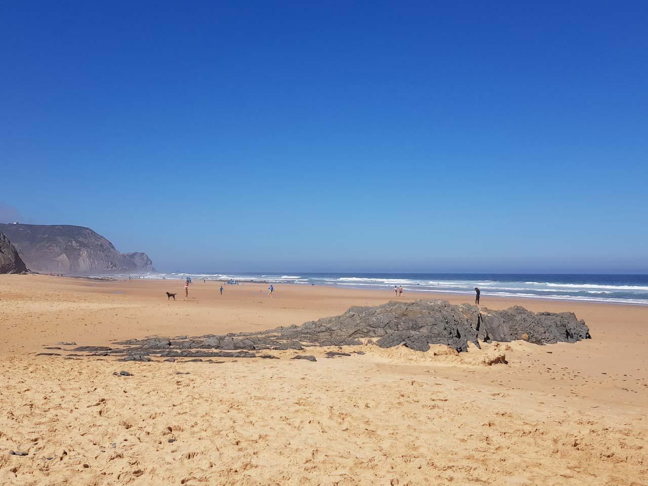 Was für ein Strand – DAS ist Campingurlaub in Portugal!