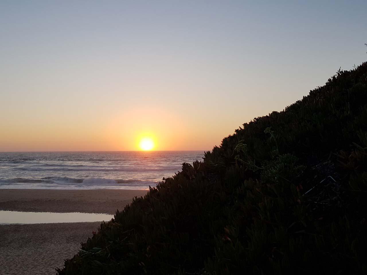 Sonnenuntergang vom feinsten für Portugal-Fans