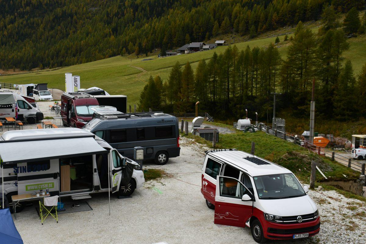 outdoor event roadsurfer beim camper van summit in tirol. Black Bedroom Furniture Sets. Home Design Ideas