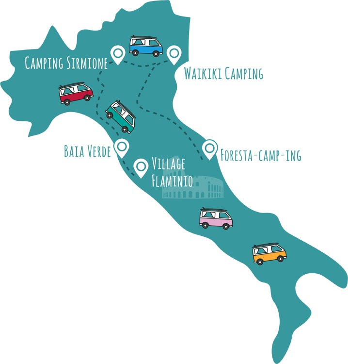 roadsurfer-Campingplätze Italien