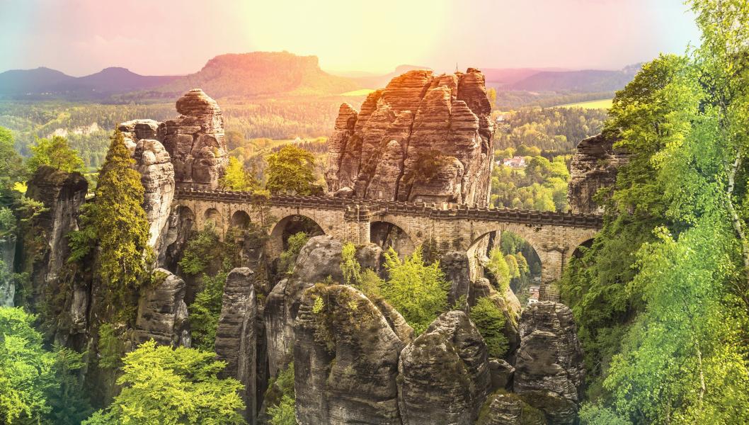 Roadtrips durch Deutschland: Basteibrücke