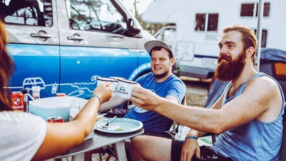 Campen für Anfänger Tasse