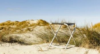 Camping holiday at the North Sea