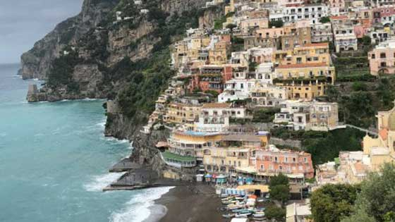 Camping with children in southern Italy Amalfi