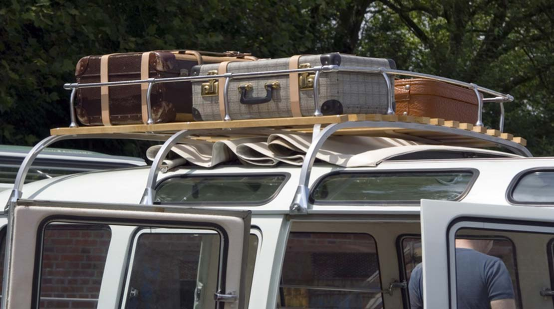Campingbus VW Bus packen