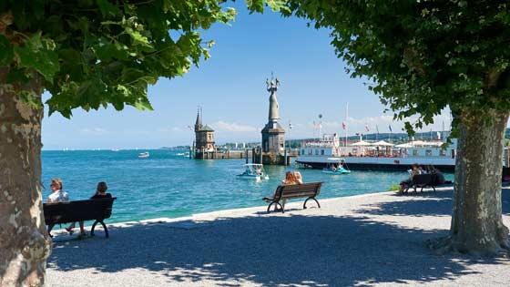 Campingbus mieten Konstanz Seeufer