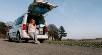 Partir seule en voyage en VW Caddy