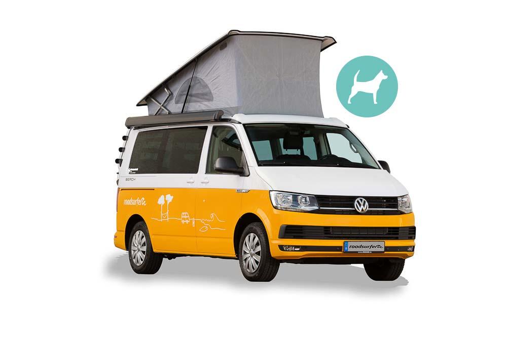 VW California HostelDeluxe mit Aufstelldach