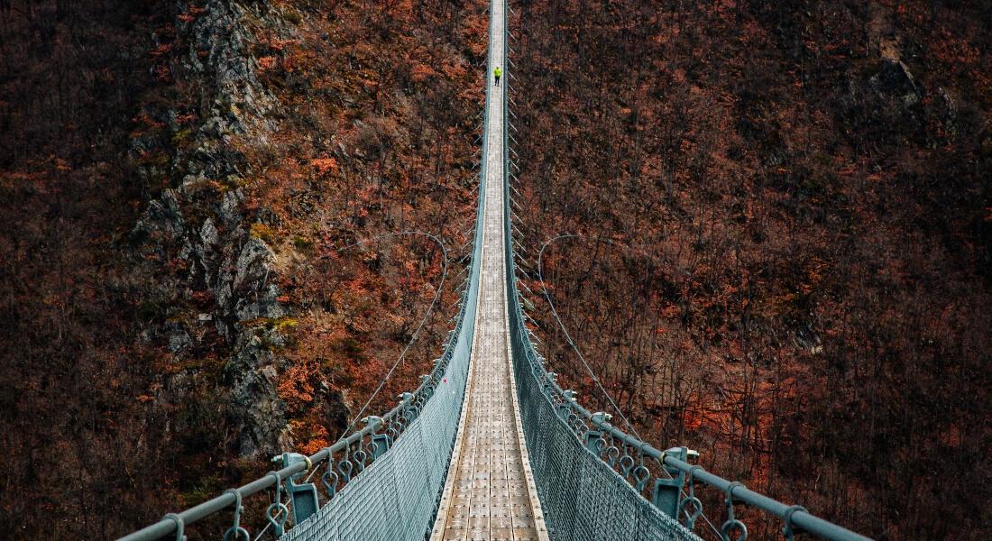 Roadtrips durch Deutschland: Geierlay Hängebrücke
