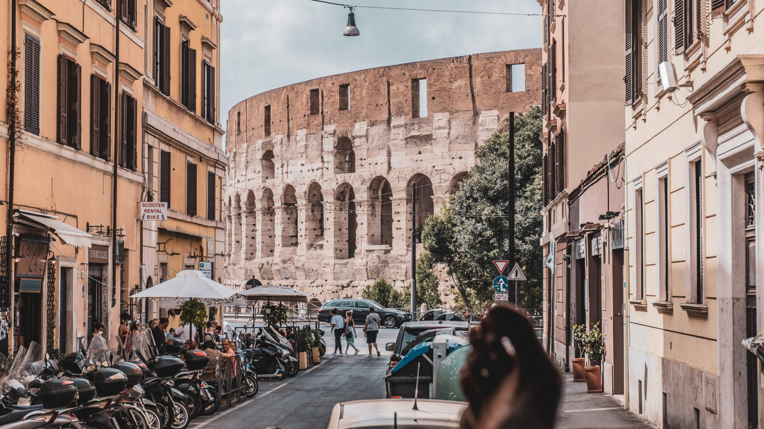 rom, kollosseum