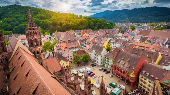 Location campervan Fribourg ville