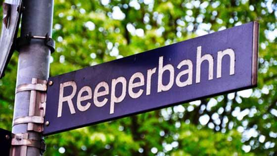 Location campervan Hambourg Reeperbahn