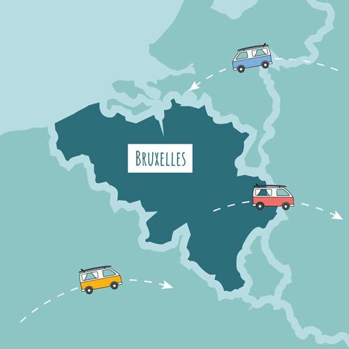 Location van Belgique