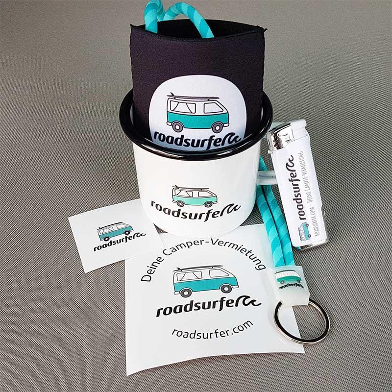 Gutschein: Paket mit Tasse