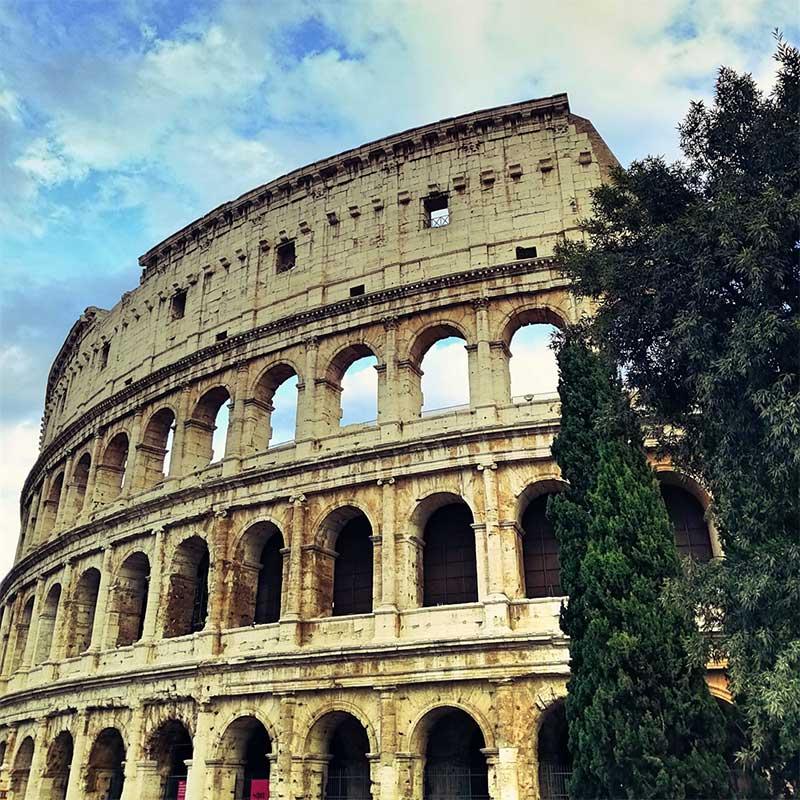 Roadtrip Italien Kolosseum Rom