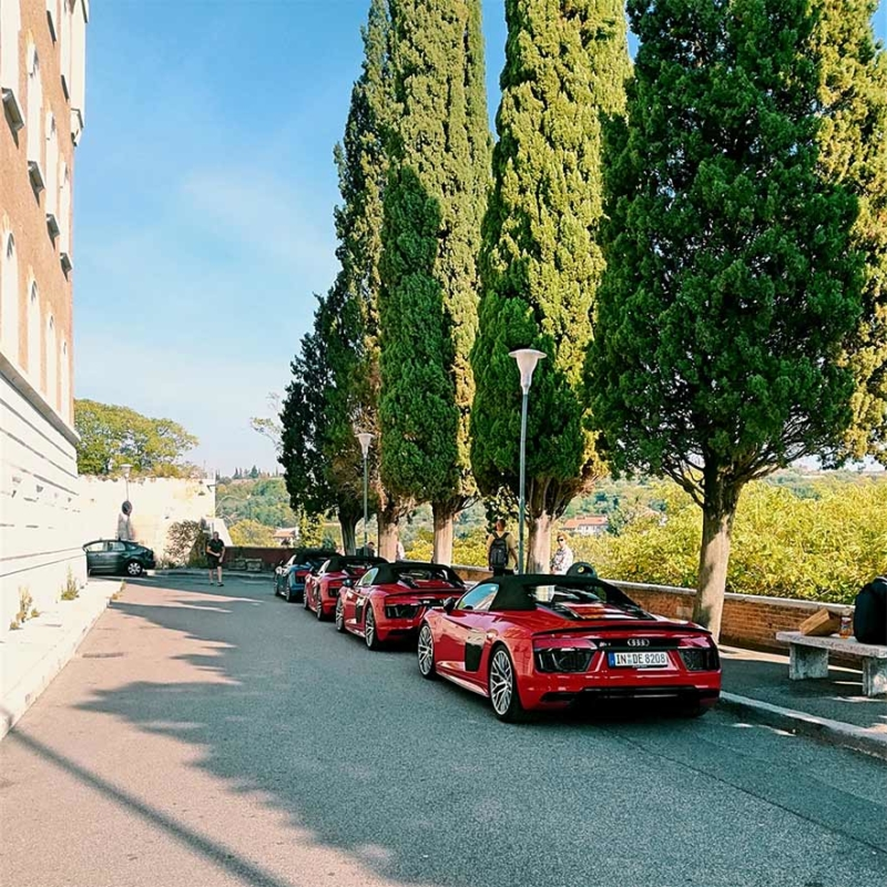 Roadtrip Italien R8 Verona