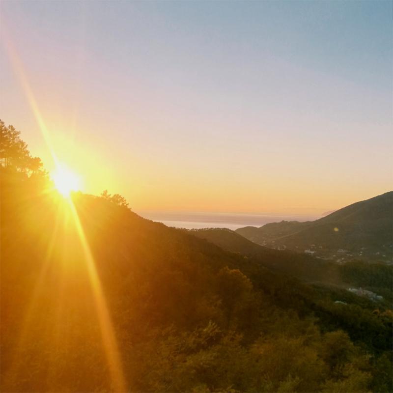 Roadtrip Italien Sunset Cinque Terre