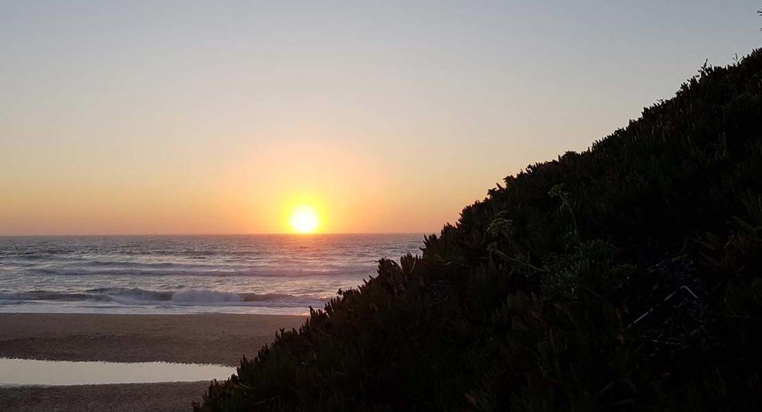Roadtrip Portugal Sonnenuntergang