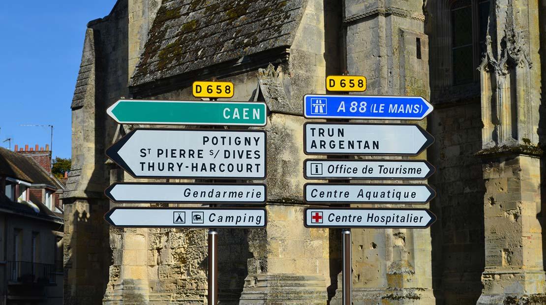 Roadtrip durch Frankreich Campingbus