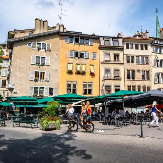 Roadtrip durch die Schweiz und Frankreich mit SUP Genf