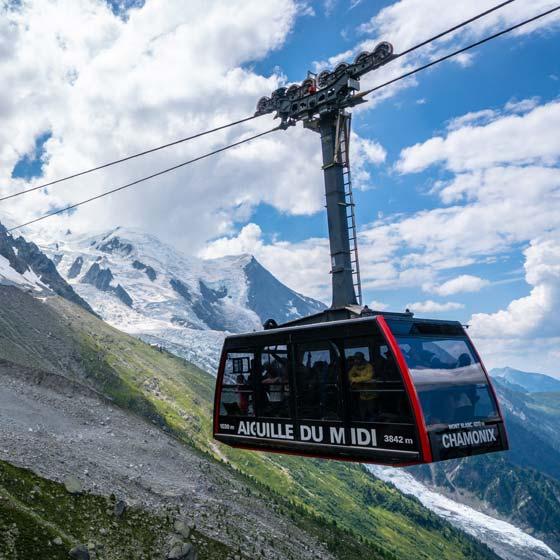 Roadtrip durch die Schweiz und Frankreich mit SUP Gondel
