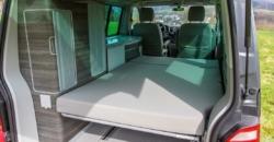 VW T6 California Ocean hire interior Surfer Suite